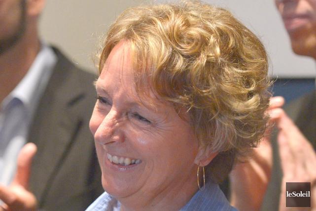 Caroline Pageau, candidate du Bloc québécois dans la... (Le Soleil, Yan Doublet)