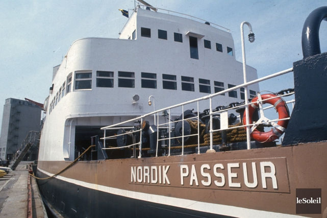 Le Nordik Passeur a relié Rivière-au-Renard, Port-Menier et... (Photothèque Le Soleil)