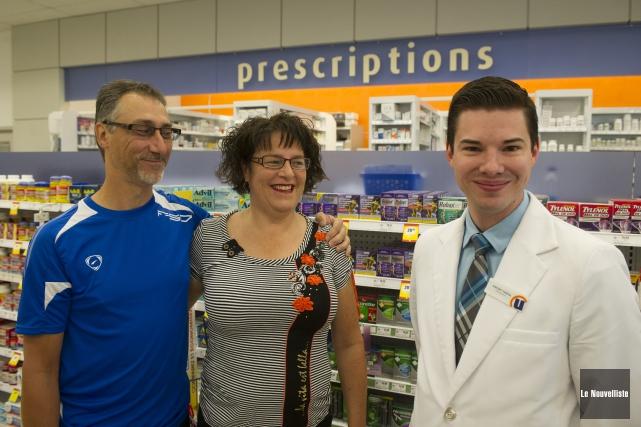 Le pharmacien Vincent Vandal a sauvé la vie... (Photo: Stéphane Lessard Le Nouvelliste)