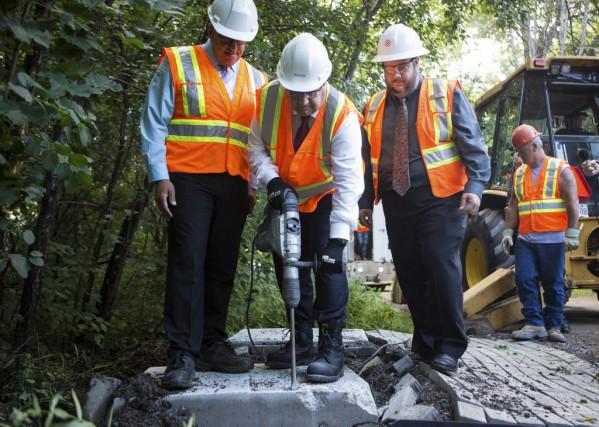 Le maire de Montréal, Denis Coderre, n'a pas... (Photothèque La Presse)