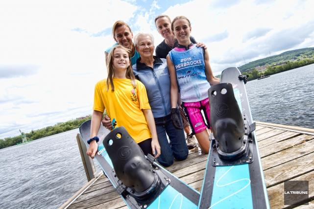 À 72 ans, Madeleine Sévigny-Allard participe à sa toute première compétition de... (IMACOM, JULIEN CHAMBERLAND)