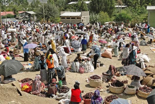 Le marché deMekele... (PHOTO TIRÉE DE WIKIPÉDIA)
