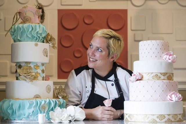 Jessika Ménard, propriétaire de Cakes par Haute Couture,... (Photo Graham Hughes, La Presse canadienne)