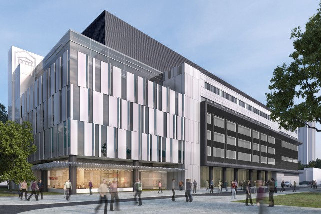 Le futur Centre d'apprentissage de l'Université d'Ottawa.... (Courtoisie)
