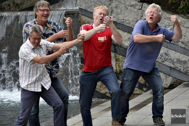 Ensemble originaire des Pays-Bas, Act of Mutiny se... (Le Soleil, Patrice Laroche)