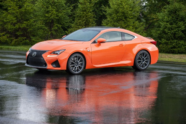 La Lexus RC F 2015... (PHOTO FOURNIE PAR LEXUS)