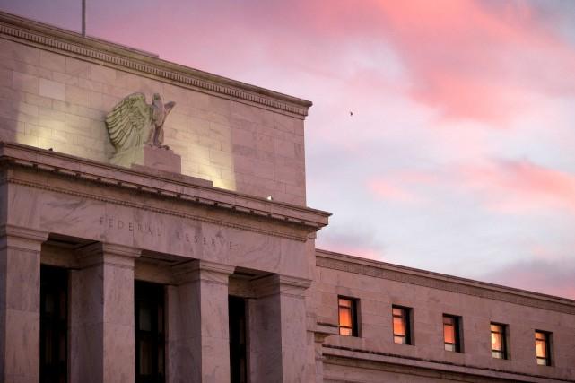 L'activité économique aux États-Unis a continué de croître à un rythme «modeste... (PHOTOANDREW HARRER, ARCHIVES BLOOMBERG)