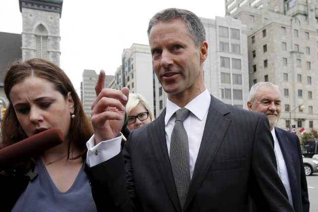 Nigel Wright, l'ancien bras droit du premier ministre,... (Photo Chris Wattie, Reuters)