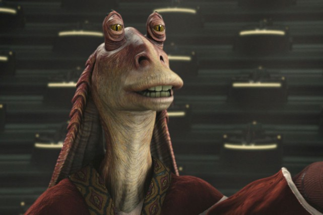 Jar Jar Binks... (Photo : starwars.com)