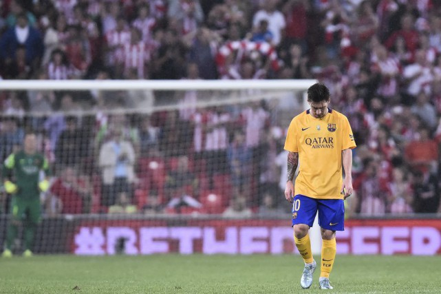 Lionel Messi a été bien muselé tout au... (Photo Alvaro Barrientos, AP)