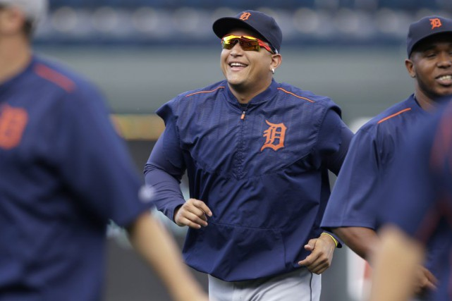 Miguel Cabrera... (Photo Orlin Wagner, AP)