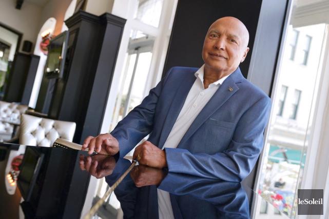 Le jour, Colin Hunter, le président fondateur du... (Le Soleil, Yan Doublet)