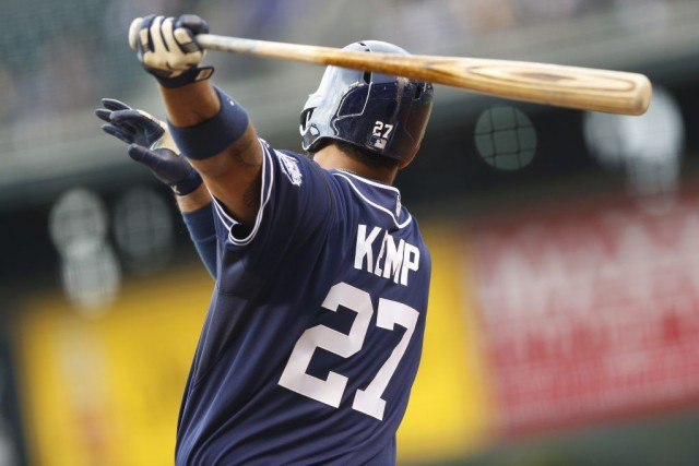 Matt Kemp... (Photo David Zalubowski, AP)