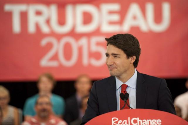 Le leader libéralJustin Trudeau... (Photo Liam Richards, archvies La Presse canadienne)