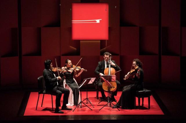 Le Quatuor Verona en concert vendredi soir à...