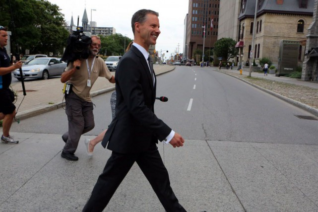 L'interrogatoire de Nigel Wright et le dépôt de... (Photo Fred Chartrand, La Presse canadienne)