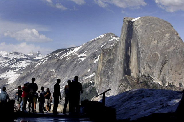 Le parc Yosemite, qui est l'un des plus... (Photo Dino Vournas, archives AP)