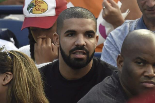 Le rappeur torontois Drake est venu faire son... (PHOTO FRANK GUNN, PC)