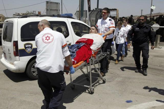 Un Palestinien a été abattu samedi par l'armée israélienne dans le nord de la... (Photo Mahmoud Illean, AP)