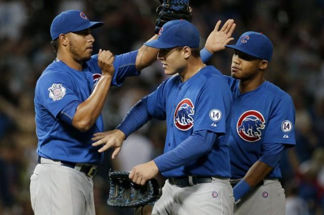 Les Cubs ont égalé leur plus longue séquence... (Photo Nam Y. Huh, AP)