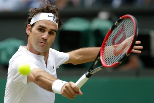 Roger Federern'a pas joué depuis sa défaite en... (PHOTO ALASTAIR GRANT, ARCHIVES AP)
