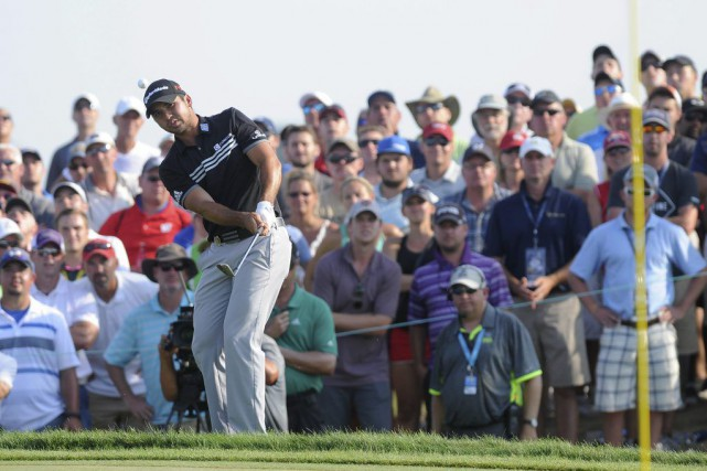 Jason Day... (Photo Thomas  J. Russo, USA TODAY Sports)