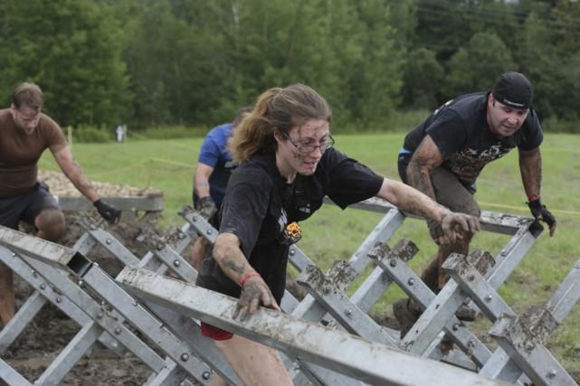 Les participants ont dû suer à grosses gouttes... (photo Catherine Trudeau)