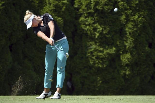 La jeune femme de 17 ans a remporté... (Steve Dykes, Associated Press)