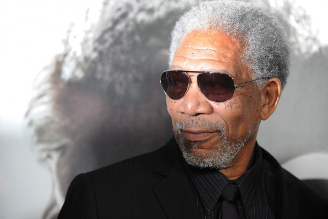 Morgan Freeman... (PHOTO AFP)