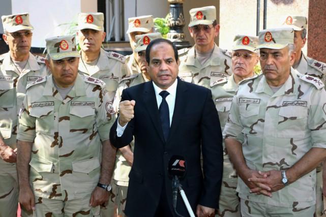 Le président égyptien Abdel Fatah al-Sissi en octobre... (PHOTO AP)