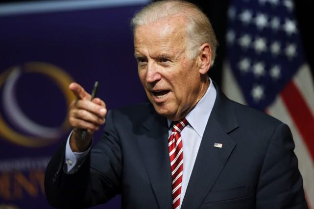 Le vice-président Joe Biden compte plusieurs alliés en... (PHOTO AP)