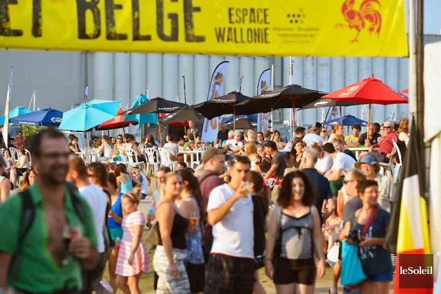 Le Festibière de Québec, qui s'est terminé dimanche,... (Le Soleil, Yan Doublet)
