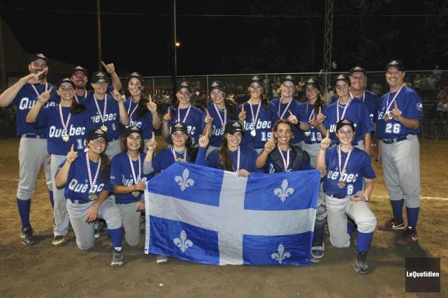 Pour une deuxième année consécutive, l'équipe Québec-1 a... (Photo Le Quotidien, Michel Tremblay)