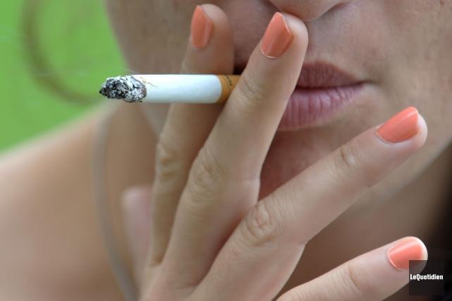 J'appuie fortement le projet de loi sur le tabac («Les tenanciers de bars... (PhotoRocket Lavoie, Le Quotidien)