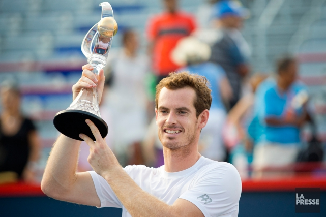 Andy Murray a remporté l'édition 2015 de la Coupe... (Sarah Mongeau-Birkett, La Presse)