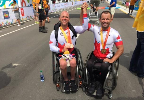 Charles Moreau a décroché deux médailles de bronze... (Photo: courtoisie)