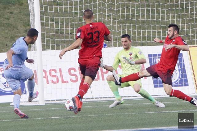 Christian Ramirez a marqué le premier but du... (Simon Séguin-Bertrand, LeDroit)
