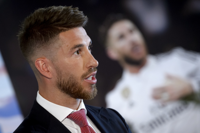 Le défenseur Sergio Ramos est le capitaine du... (Photo Dani Pozo, AFP)