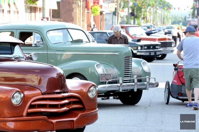 La ville de Richmond s'est remplie de monde, et surtout de belles voitures... (IMACOM, MAXIME PICARD)
