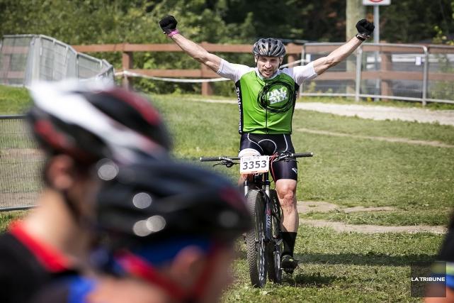 Le mont Bellevue accueillait le weekend dernier une épreuve de la Coupe du... (IMACOM JOCELYN RIENDEAU)