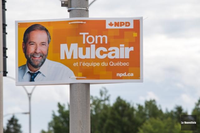 L'investiture du NPD dans Saint-Maurice-Champlain aura lieu le... (Photo: Olivier Croteau Le Nouvelliste)