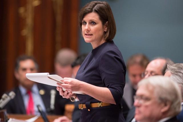 Stéphanie Vallée... (PHOTO JACQUES BOISSINOT, ARCHIVES LA PRESSE CANADIENNE)