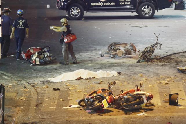 Les auteurs de l'attentat ont visé un site... (Photo AP)