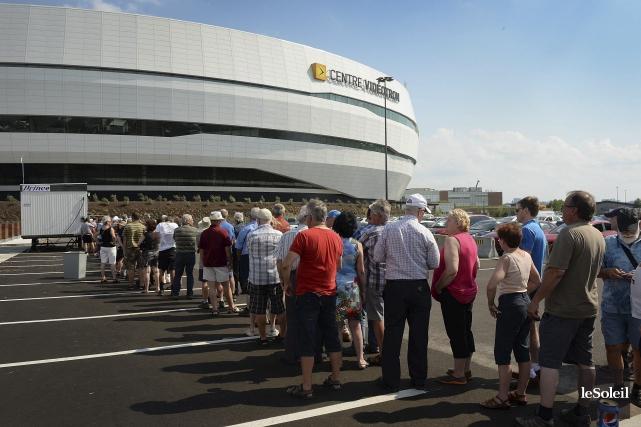 Finalement, 120 000 citoyens auront visité l'amphithéâtre la... (Photothèque Le Soleil, Patrice Laroche)