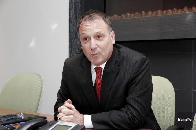 Le conseiller municipal de Granby et candidat aux... (photo archives La Voix de l'Est)