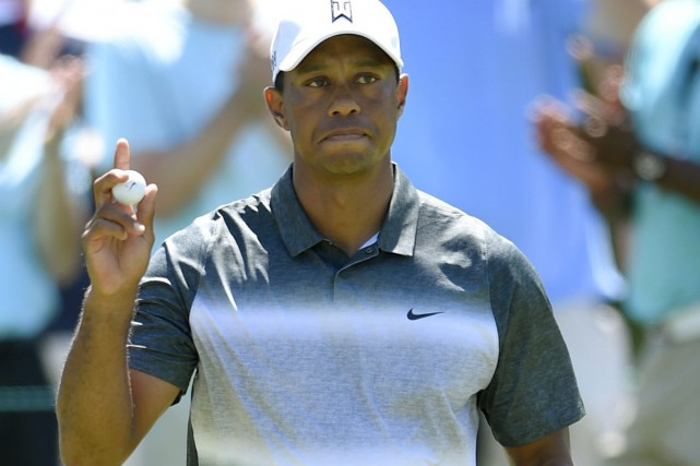 Tiger Woods... (Photo Nick Wass, AP)