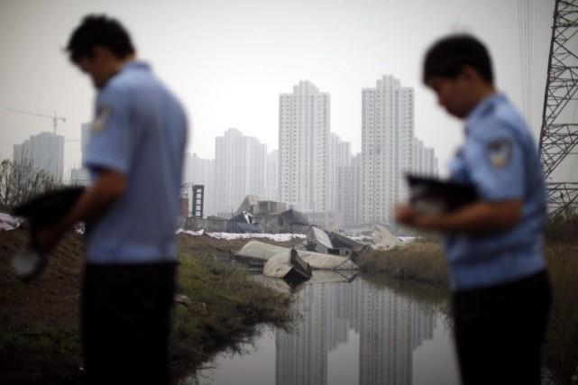 Les explosions survenues le 12 août dans un... (Photo Chinatopix, AP)