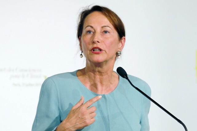 La ministre française de l'Écologie, Ségolène Royal... (PHOTO ARCHIVES AFP)