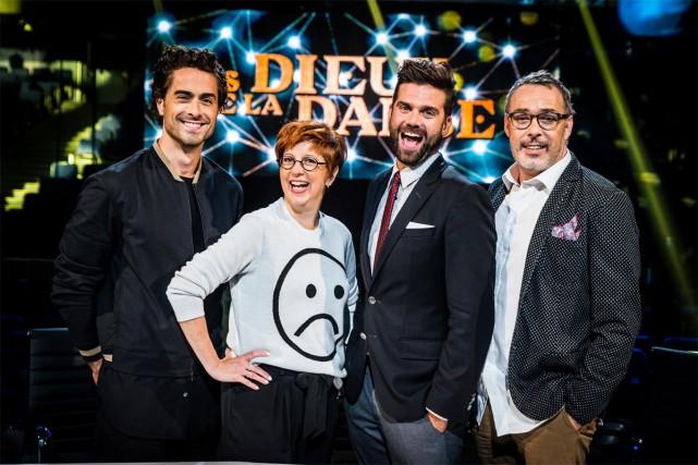 Nico Archambault, Chantal Lamarre, Jean-Philippe Wauthier et Serge... (PHOTO FOURNIE PAR RADIO-CANADA)