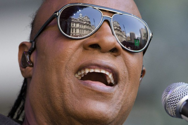 Stevie Wonder... (PHOTO AP)